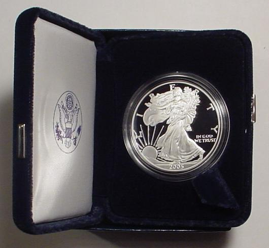 2005 Proof Silver Eagle