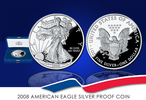 2008 Proof Silver Eagle