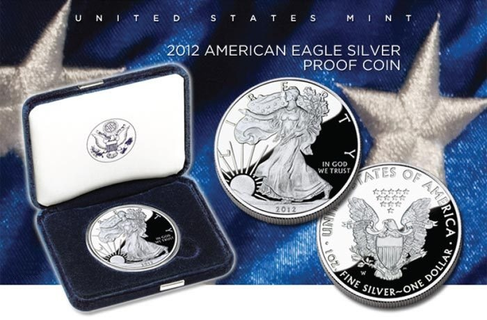 2012 Proof Silver Eagle