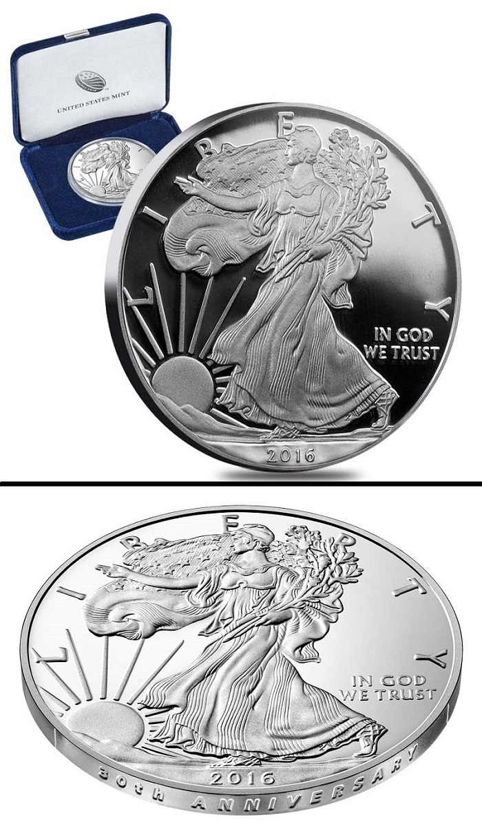 2016 Proof Silver Eagle