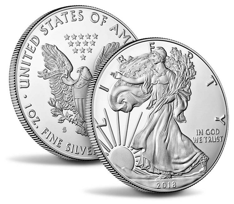 2018 Proof Silver Eagle