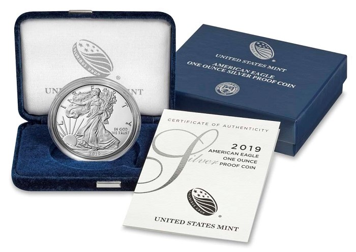 2019 Proof Silver Eagle