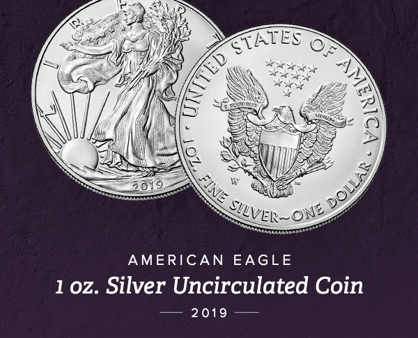 2019-W Burnished Silver Eagle