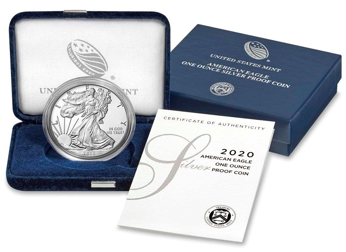 2020 Proof Silver Eagle