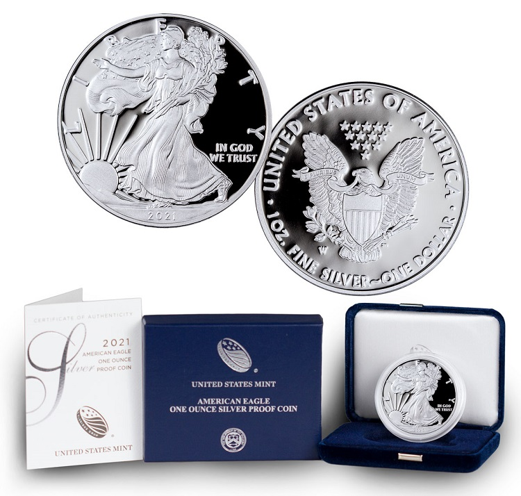2021 Proof Silver Eagle