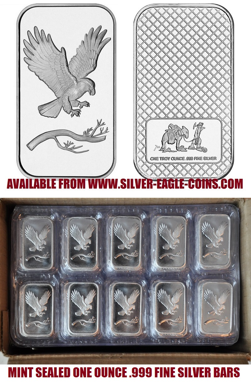 Bald Eagle 1 Oz. Silver Bar