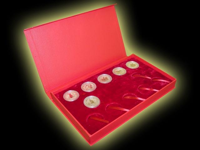 Australian 1 Oz Silver Lunar Presentation Box